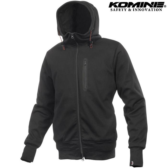 komine JK-604 Protect KV Parka プロテクトKVパーカー ジャケット ブラック