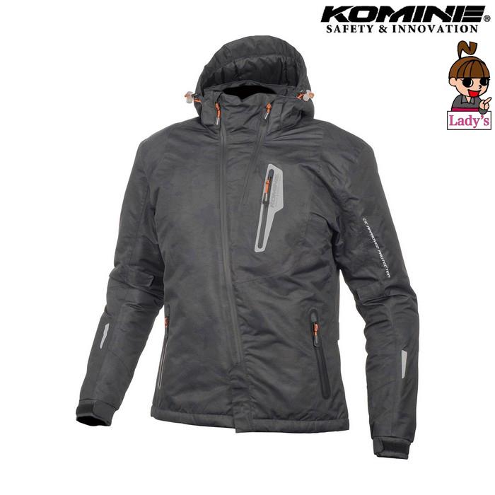 komine レディース JK-589 プロテクトウインターパーカ ジャケット ネオブラックカモ ◆全6色◆