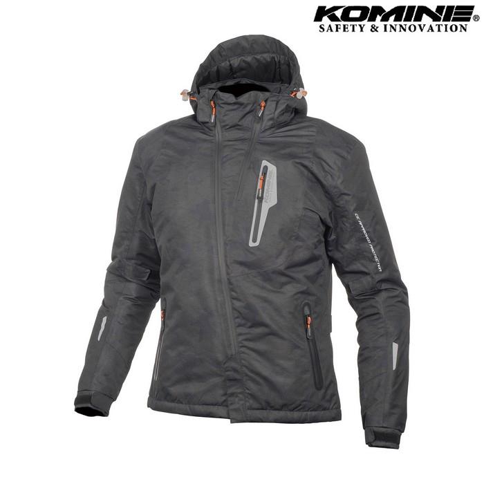 komine JK-589 プロテクトウインターパーカ ジャケット ネオブラックカモ ◆全6色◆
