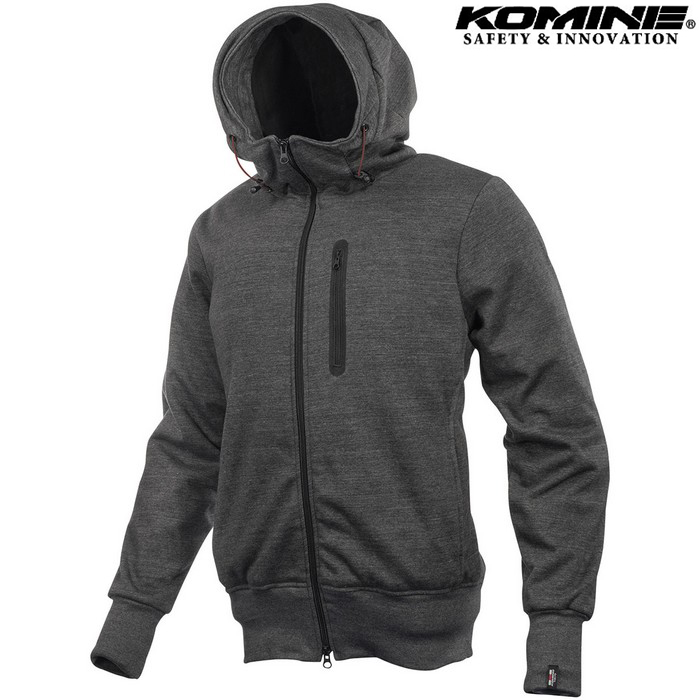 komine JK-604 Protect KV Parka プロテクトKVパーカー ジャケット グレー ◆全3色◆