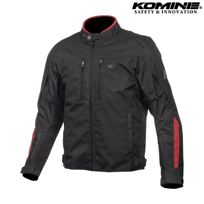 komine JK-603 Protect W-JKT プロテクトウィンタージャケット ブラック/レッド ◆全5色◆