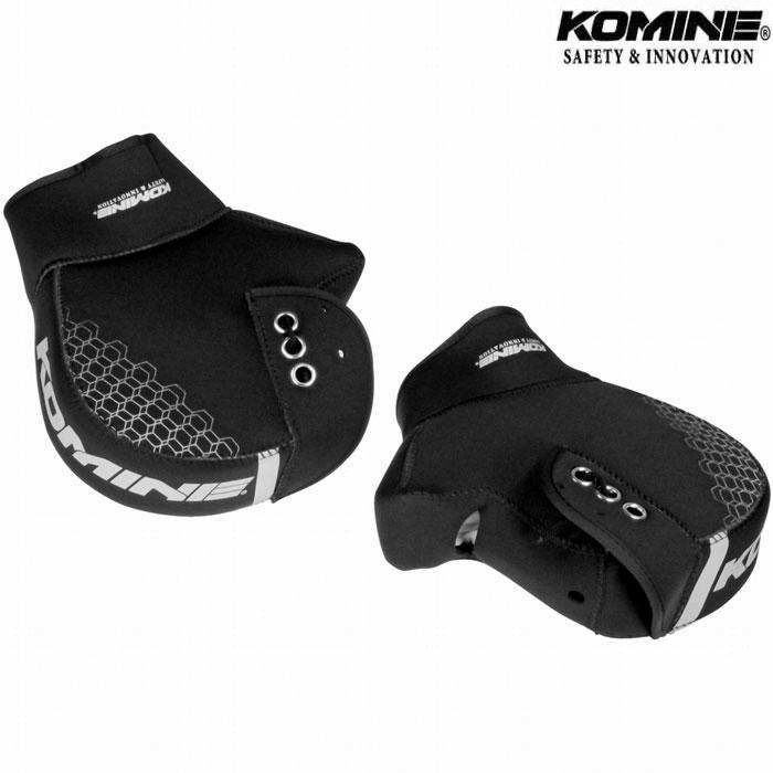 komine AK-348 ネオプレンハンドルウォーマープラス ブラック◆3色◆