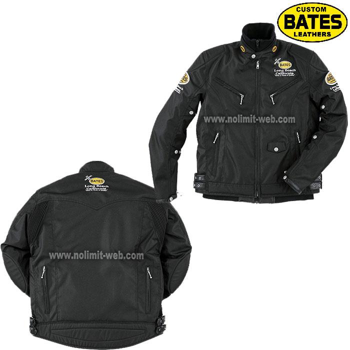 BATES 〔WEB価格〕BSP-4 BATES ロングシーズン ナイロン&レザージャケット