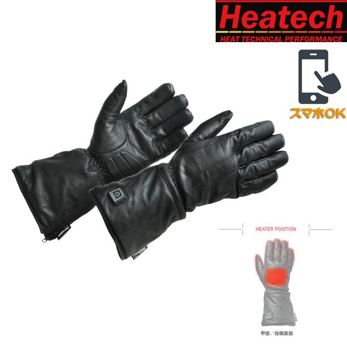 HEATECH 〔WEB価格〕HM12V_ヒートレザーグローブ゛ type-1
