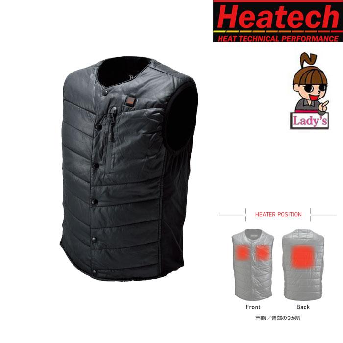 HEATECH 〔WEB価格〕【レディース】 HM5V_Heat Inner Vest 002