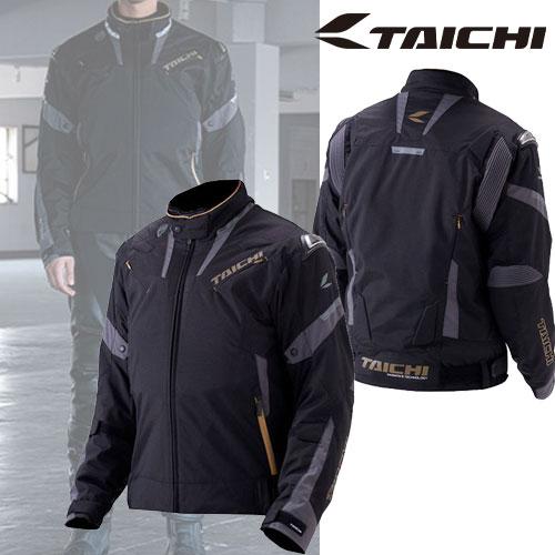 《在庫限り》【通販限定】RSJ718 アームド オールシーズンジャケット 撥水加工 着脱式インナー ブラック/ゴールド ◆全4色◆