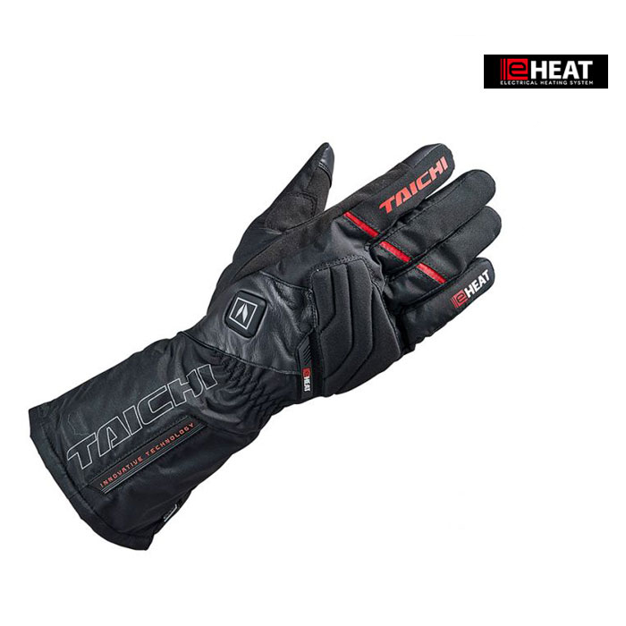 RST640 e-HEAT グローブ 電熱/防寒/防風 ブラック/レッド ◆全4色◆