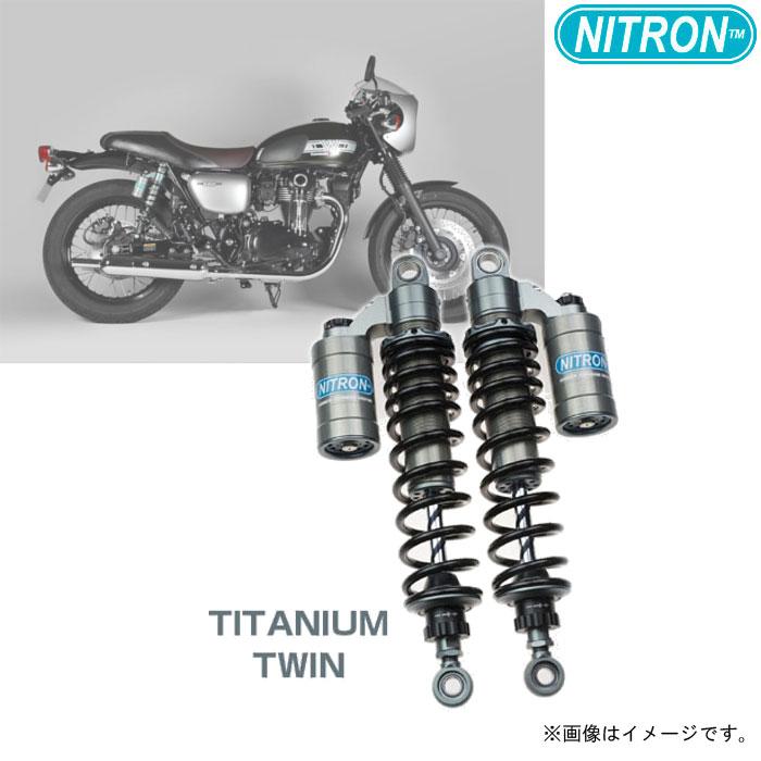 NITRON 【お取り寄せ】TSK12RT-BK リアショック TWIN Shock TWIN R3 Series  W800(2019)〔決済区分:代引き不可〕