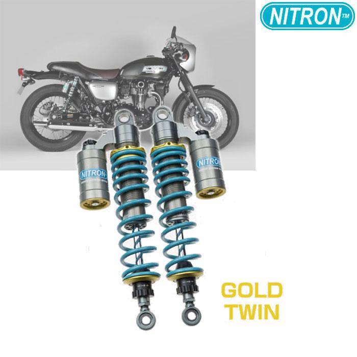 NITRON 【お取り寄せ】TSK12RG-TQ リアショック TWIN Shock TWIN R3 Series  W800(2019)〔決済区分:代引き不可〕