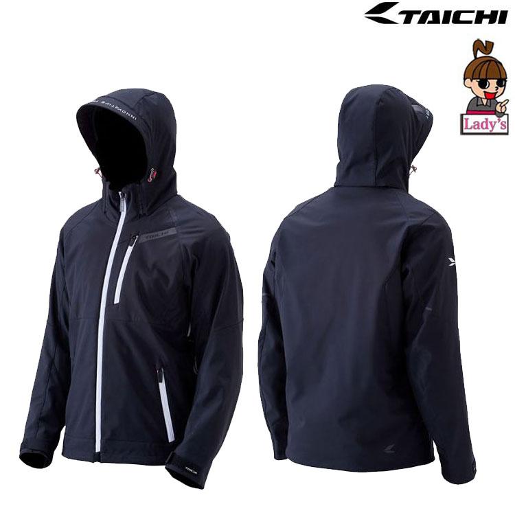 (レディース)RSJ720 ソフトシェル オールシーズン パーカ ジャケット BLACK/WHITE◆全5色◆