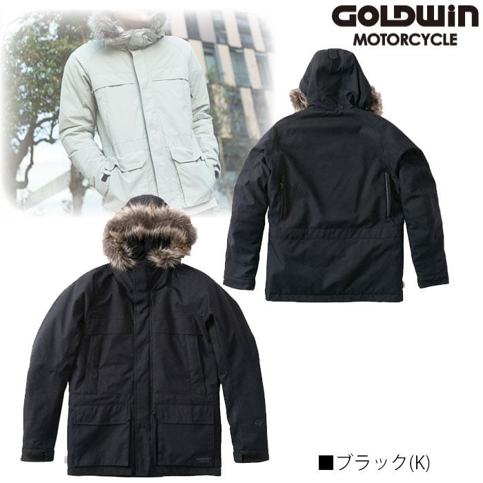 GOLDWIN GSM22952 GWM GORE-TEX INFINIUM フーデッドジャケット ブラック(K)◆全3色◆