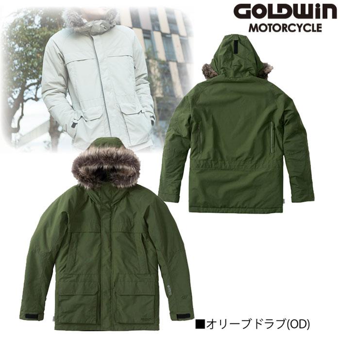 GOLDWIN GSM22952 GWM GORE-TEX INFINIUM フーデッドジャケット オリーブドラブ(OD)◆全3色◆