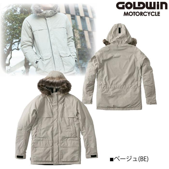 GOLDWIN GSM22952 GWM GORE-TEX INFINIUM フーデッドジャケット ベージュ(BE)◆全3色◆