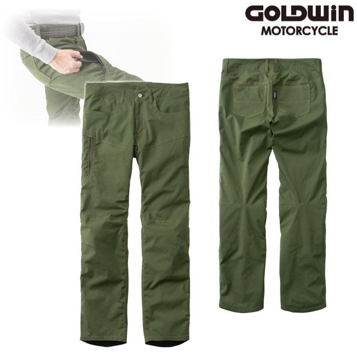 GOLDWIN GSM23951 GWM ウォームカーゴパンツ オリーブドラブ ◆全7色◆
