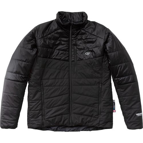 GOLDWIN 〔WEB価格〕GSM24950 プリマロフト インナージャケット ブラック×ガンメタル(KG)◆全2色◆