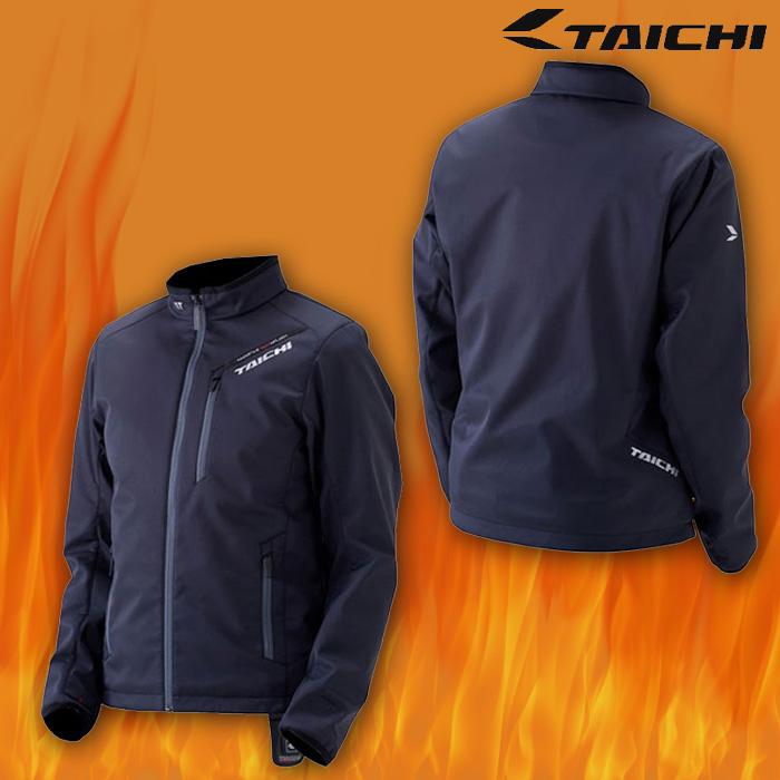 アールエスタイチ RSU622 e-HEAT インナージャケット 電熱/防寒/防風 ブラック/レッド ◆全2色◆