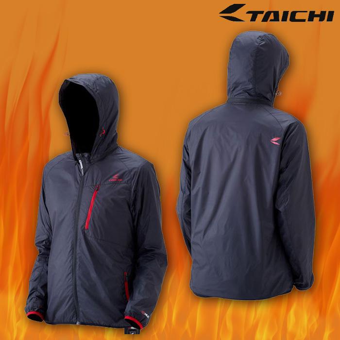 RSU621 e-HEAT インナーパーカ 電熱/防寒/防風 BLACK/RED ◆全3色◆