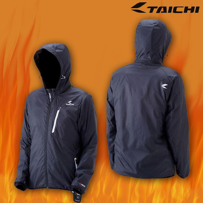 RSU621 e-HEAT インナーパーカ 電熱/防寒/防風 BLACK/WHITE ◆全3色◆