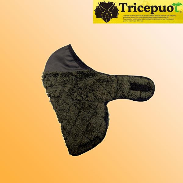 GPカンパニー TCP-0911 マイクロフリースボアフェイスマスク ブラック◆全4色◆