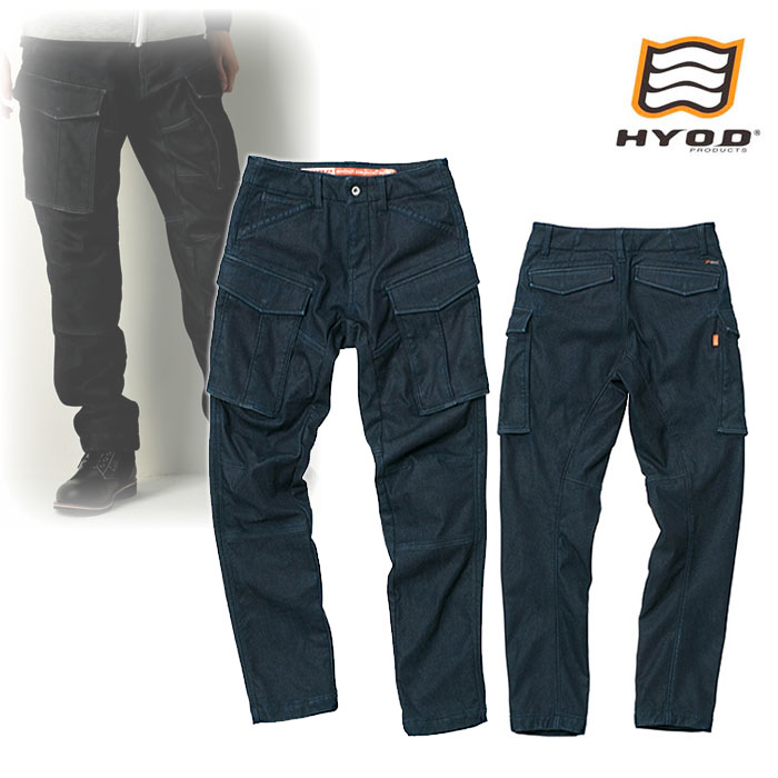 "HYOD PRODUCTS HYD535D HYOD D3O 3D CARGO PANTS""WARM LAYERD"" INDIGO(one-wash)◆全3色◆"