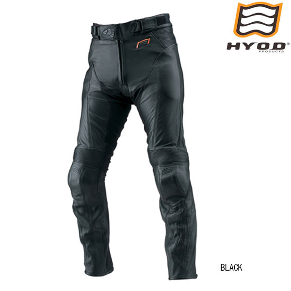 HYOD PRODUCTS HSP004DN ST-X D3O  LEATHER PANTS (BOOTS-OUT) レザーパンツ BLACK◆全2色◆