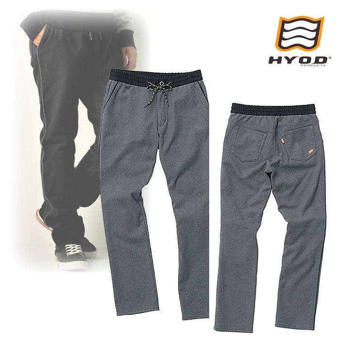 "HYOD PRODUCTS HYD531DS HYOD D3O EASY RIDE SIDE LINE PANTS ""WARM LAYERD"" GREY◆全4色◆"