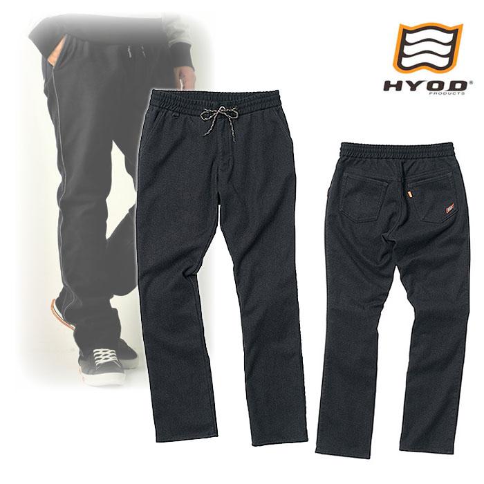 "HYOD PRODUCTS HYD531DS HYOD D3O EASY RIDE SIDE LINE PANTS ""WARM LAYERD"" BLACK◆全4色◆"