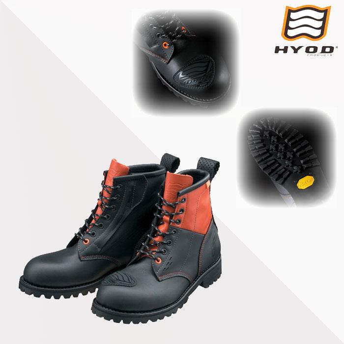 HYOD PRODUCTS STF002DS RIDILL D3O BLACK/ORANGE◆全2色◆