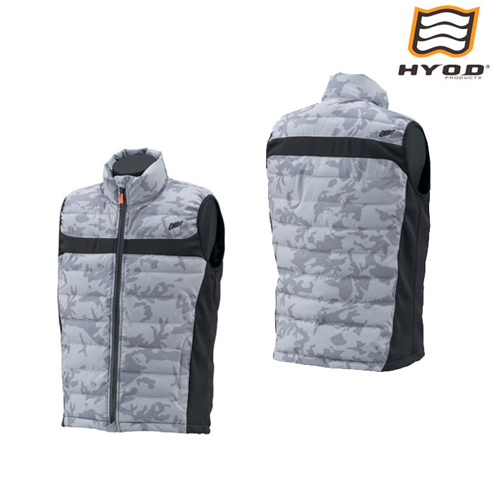 HYOD PRODUCTS STI519S WARM INNER VEST インナーベスト GREY CAMO◆全4色◆