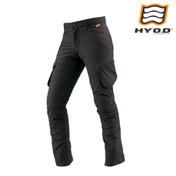 HYOD PRODUCTS STT506DN ST-W Lite D3O PANTS (STRAIGHT) ライディングパンツ 保温 BLACK◆全2色◆