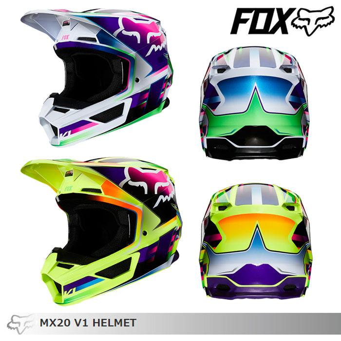 FOX RACING 〔WEB価格〕V1 オフロードヘルメット ガマ