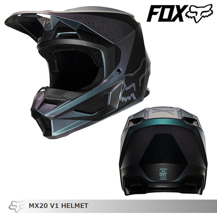 FOX RACING 〔WEB価格〕V1 オフロードヘルメット ウェルド
