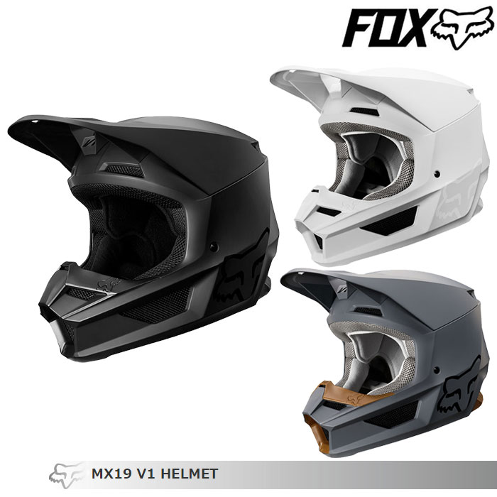 FOX RACING 〔WEB価格〕V1 マット オフロードヘルメット
