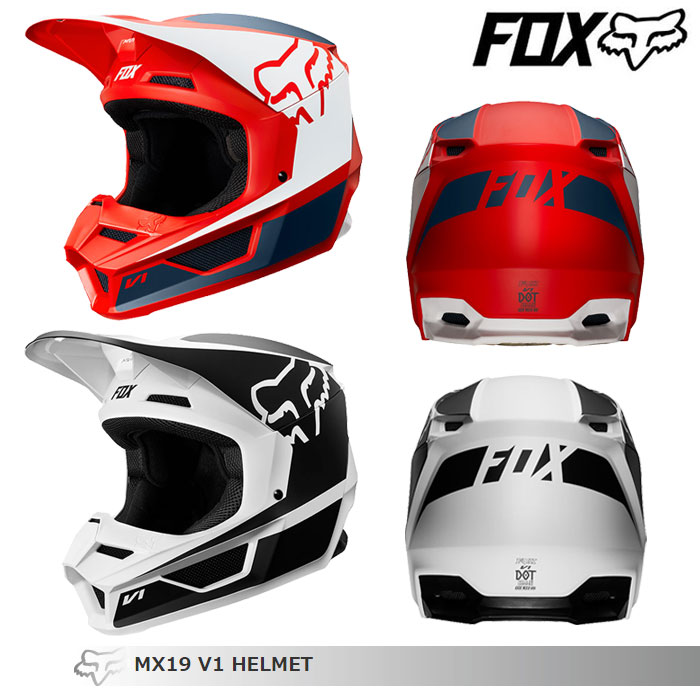 FOX RACING 〔WEB価格〕V1 プリズム オフロードヘルメット