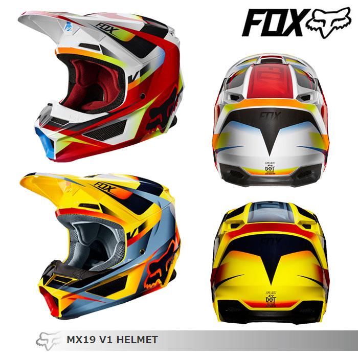 FOX RACING 〔WEB価格〕V1 モティーフ オフロードヘルメット