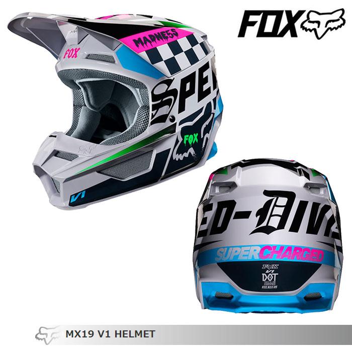 FOX RACING 〔WEB価格〕V1 ツァール オフロードヘルメット