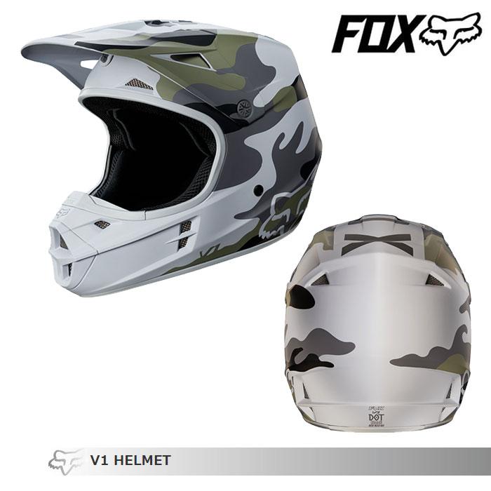 FOX RACING 〔WEB価格〕MX18 V1 サンディエゴスペシャルエディション オフロードヘルメット