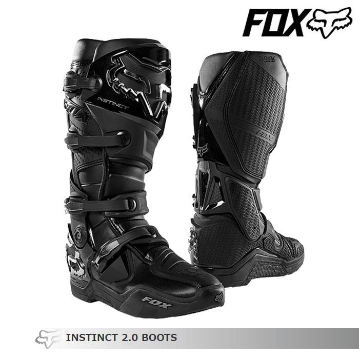 FOX RACING 〔WEB価格〕INSTINCT【インスティンクト】2.0 ブーツ    ブラック