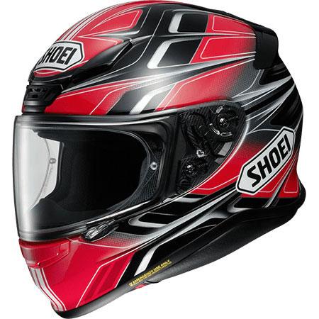 SHOEI ヘルメット 店頭展示品 Z-7 RUMPUS【ランパス】 フルフェイス ヘルメット BLACK/RED (TC-10)