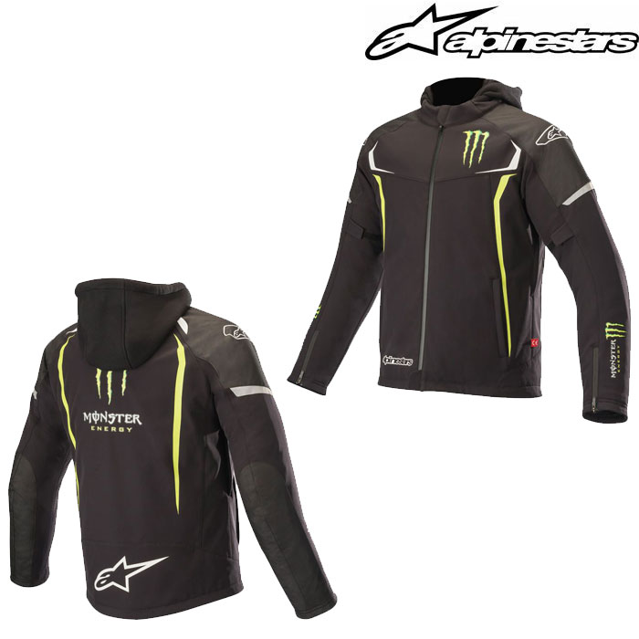 alpinestars 〔WEB価格〕MONSTER ORION TECHSHELLDRYSTAR ジャケット モンスターエナジー
