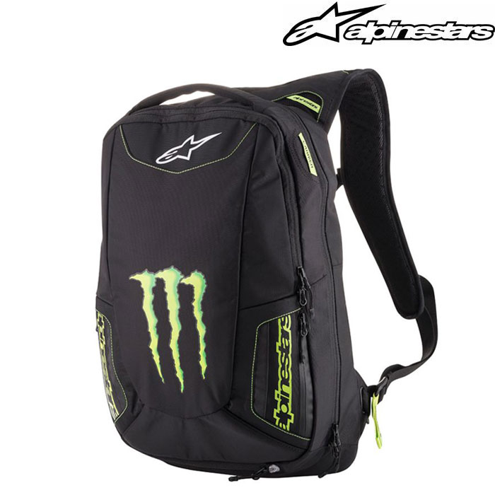 alpinestars 〔WEB価格〕MONSTER MARAUDER BACKPACK モンスターエナジー