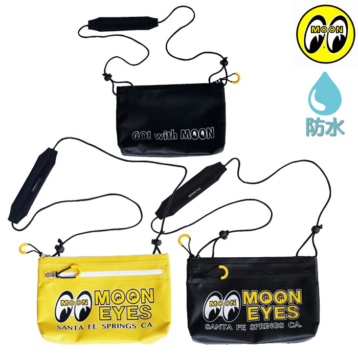 MOONEYES 〔WEB価格〕OMB-005 WATERPROOF BAG 防水バッグ
