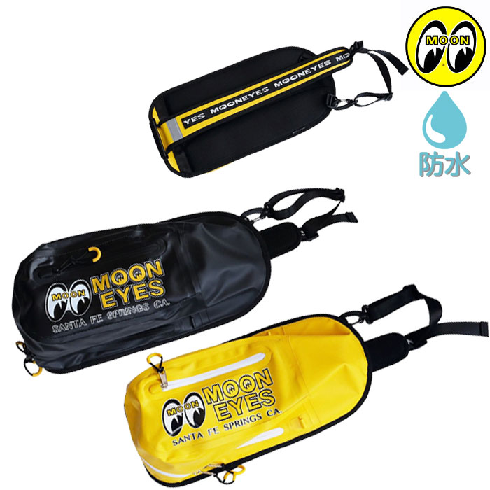 MOONEYES 〔WEB価格〕OMB-007 WATERPROOF BAG 防水バッグ