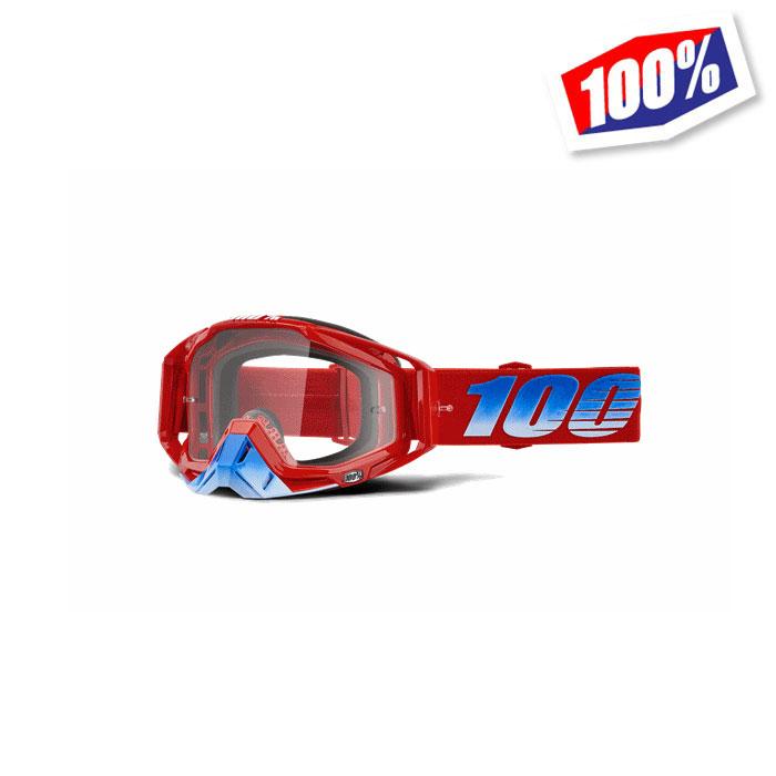 100% 〔WEB価格〕100パーセント RACECRAFT ゴーグル KURIAKIN