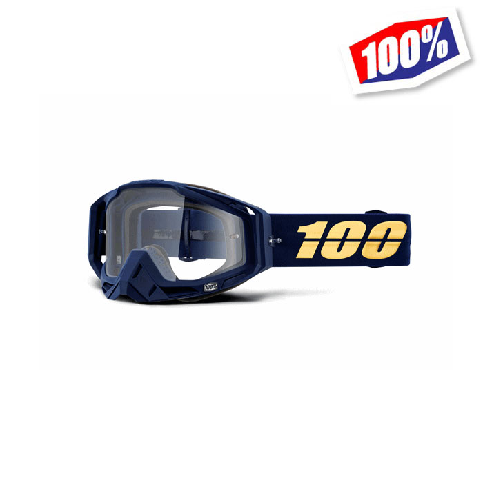 100% 〔WEB価格〕100パーセント RACECRAFT ゴーグル BAKKEN