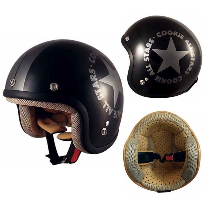 TNK工業 〔WEB価格〕【キッズ】CK-6 くっきーおーるすたー ジェットヘルメット