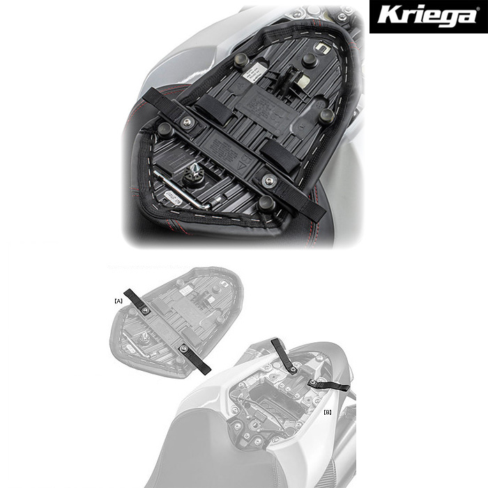 Kriega TRIUMPH Speed Triple US-ドライパック・フィットキット
