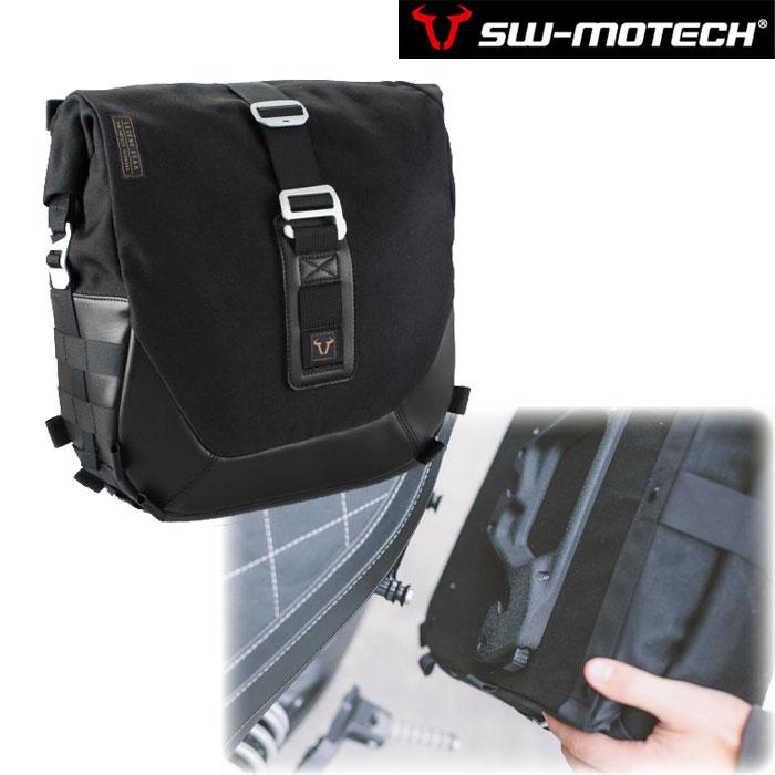 SW-MOTECH LC2サイドバッグ  ブラックエディション【左側】 13.5L