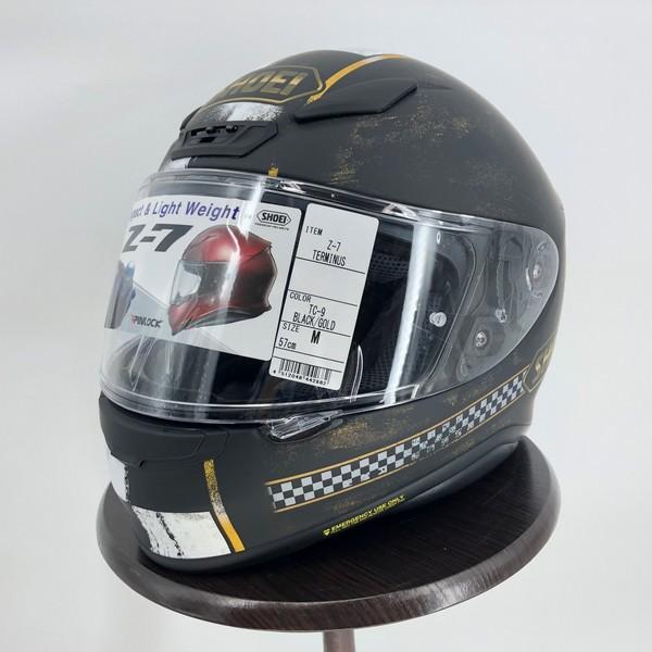 SHOEI ヘルメット 【訳アリ品 限定1点】Z-7 TERMINUS[ターミナス] フルフェイス ヘルメット<返品交換不可>