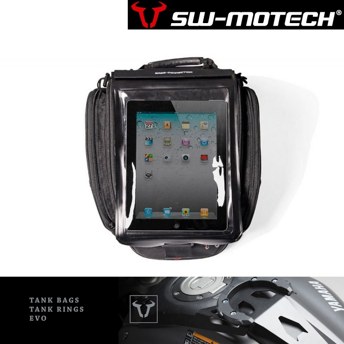 SW-MOTECH EVOタンクバッグ タブレットDRYBAG